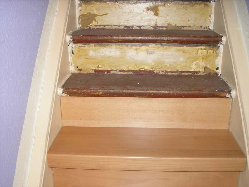 pin treppe mit laminat belegen on pinterest. Black Bedroom Furniture Sets. Home Design Ideas